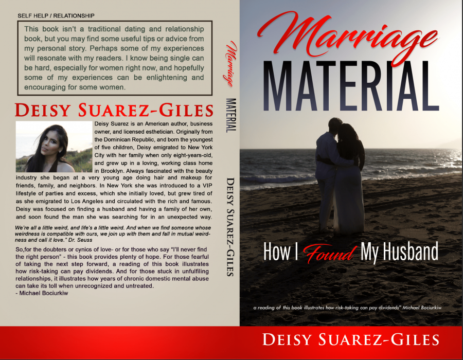 "Full Book Cover of ""Marriage Material: How I Met My Husband"""
