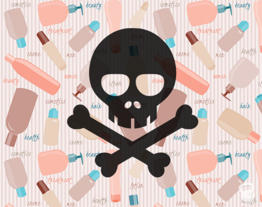 Harmful Ingredients skull and crossbones